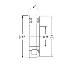 200 mm x 360 mm x 98 mm  KOYO NUP2240 cylindrical roller bearings
