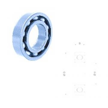 9 mm x 26 mm x 8 mm  Fersa 629-2RS deep groove ball bearings