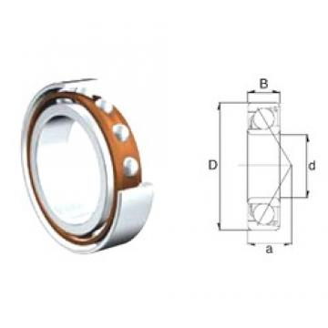 50 mm x 110 mm x 27 mm  ZEN 7310B angular contact ball bearings